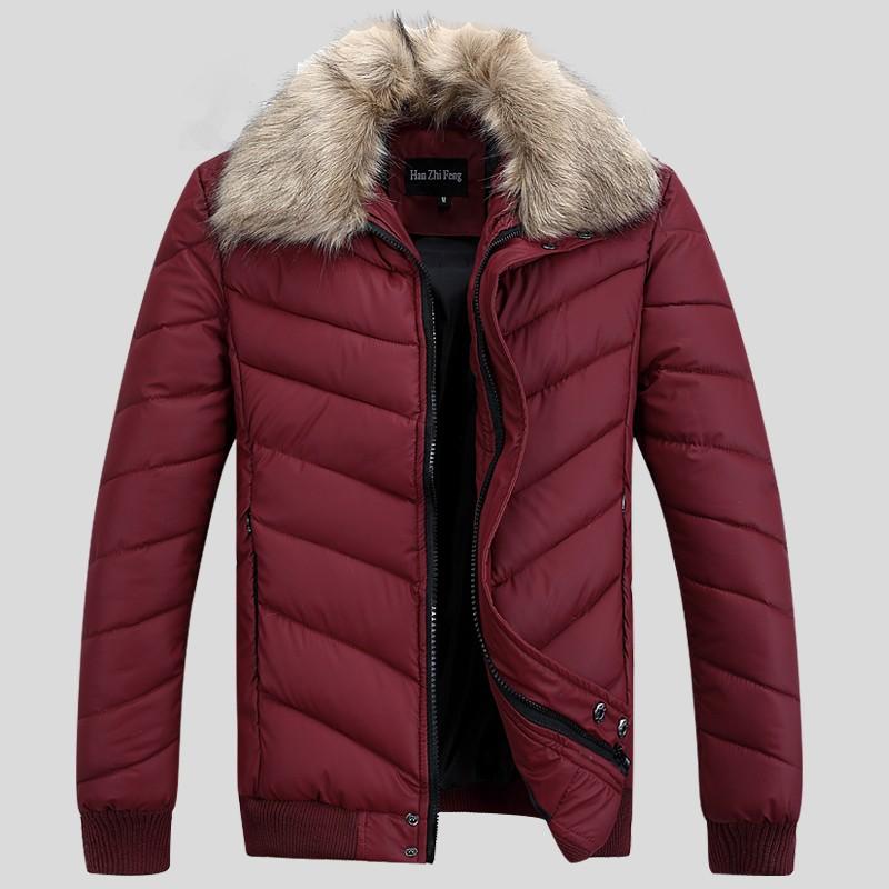 мужскую зимнюю куртку купить с воротником