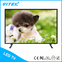 Shenzhen factory indoor application flat control brand 48 inch color atsc tv