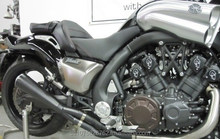 UFO Thundermax Exhaust Slip On System 2009-2014 Vmax Gen2 Motorcycle