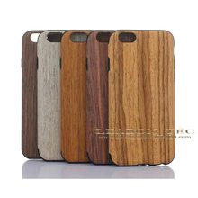wooden phone case for iphone 6 cover, bamboo cell phone case