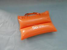 Cheap plastic inflatable bean bag for beach