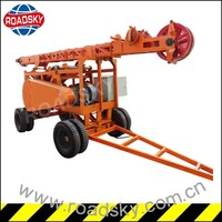Electric Borehole Foundation Drilling Equipment For Water Well