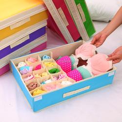 Q1079 Multifunctional folding underwear storage box