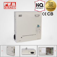 Factory price SJK-60-12 9CH AC output CCTV power supply box 220v 12v power supply with ce