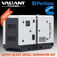 Great engine powered Global Warranty Diesel power generator three phase 220v generator