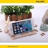 YOLOPE genuine leather flip case cover for Apple iPhone 6 with sensor key for calls