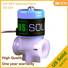 "1/4"" NPT DC 24 V U.S. Solid Replacement Solenoid Valve for Reverse Osmosis (RO) Water Purifying Systems"