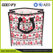 polypropylene woven fabric foldable/reusable shopping/grocery/custom tote bag manufacturer