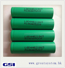 Huge stock wholesale discount! LG HB2 HD2 HE2 MG1 18650 rechargeable li-ion battery