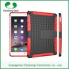 Shockproof Anti-throw TPU Rubber oil paint PC heavy duty Hybrid case cover for iPad air 2