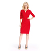 Premium Cocktail Dress Classic Sexy Red Cocktail Dress