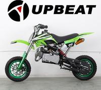 Upbeat two stroke cheap 49cc kids dirt bike 49cc mini pit bike