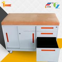 New designed anti-tilt high quality metal mobile caddy pedestal file cabinet for office depot