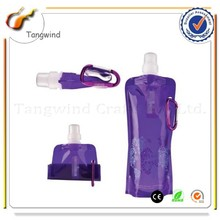 007 Promotional Gift Plastic Foldable Sports Drinking Water Bottle