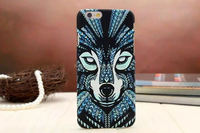 Cell phone accessory Sculpture Animal Pattern PC Cover Case for iphone 6 pc cell phone case alibaba china