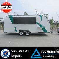 FV-78 fruit food caravan for sale steamed corn food caravan fiber glass food caravan