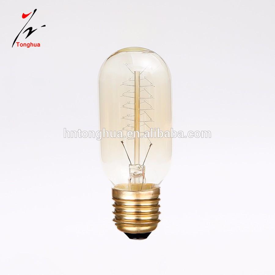 Edison Vintage 110v E26 E27 A19 A60 40w 60w Equivalent: Decorative Tungsten Filament E26 E27 25w/40w/60w T45