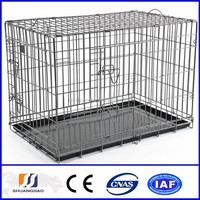 Lowest price Hot-dipped galvanized heated dog kennel