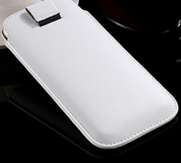 Pu leather phone pouch for i phone and sumsung s3/s4/s5