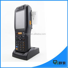 Industrial handheld PDA printer wireless touch screen android for parking system(PDA3505)