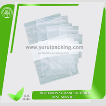 Factory wholesale plastic clear reclosable envelope for cards