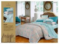 2015 Summer new type King reactive printing Tencel bedding set duvet covet set for adult 4pcs