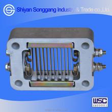 Dongfeng piezas del motor del camión EQ4H entrada de aire precalentador compl 1015BF11-010