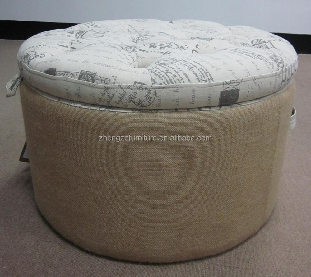 estilo francés mobiliario de sala ropa de tela de la impresión puede ...