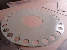 epoxy resin sheet for piston ring as carrier wheel for mulling