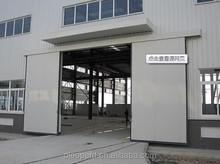 Smart control steel door / Workshop sliding door price
