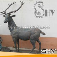 Antique Iron Deer,Cast Iron Deer