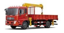 5 ton hydraulic Crane at 2.5m, Model No.: SQ5S3, 5 ton high quality truck used crane with telescopic boom