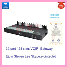 32 port VOIP gateway, GOIP remote control router, multi sim rotation reduce block