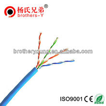 2 pair utp cat5e cable flat utp cat 5 lan cable cat5e network cable