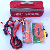 OP wholesale ISO CE FDA approved red handy compact roadside auto emergency tool kit for car