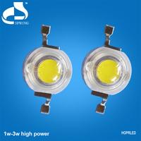 Cheap price 3w white high power led 10000k