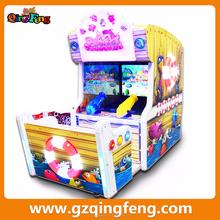 Qingfeng 2015 GTI popular amusement center lottery vending machine shooting fish game
