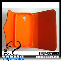 Specially phone pocket briefcase existing mould pu mobile phone case for iphone5 with camera hole