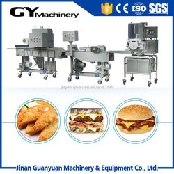 Middle scale meat /beef burger production line