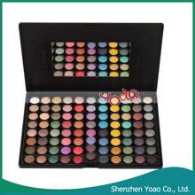 Profesional 88 colores paleta sombra de ojos cosmético de la gama para mujeres