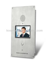 An-ti proof IP Video telephone built-in TFT and camera KOONTECH KNZD-60
