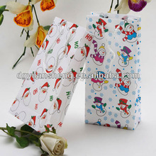 2015 new product christmas felt gift bag wholesale from professional manufacturer