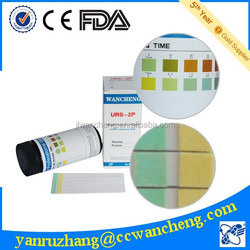 one step urinalysis test/urine test strip/URS-2P/China rapid test kit FDA