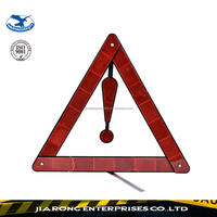 24 hours replied Roadway emergency car triangle warning sign