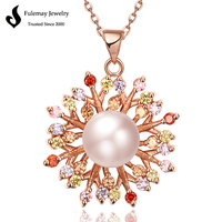 Bisuteria pearl jewelry fashion pearl necklace