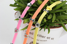 DIY rubber bracelet by yourself with pattern