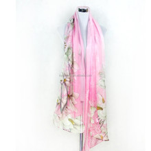Long silk scarves women Summer/spring and autumn period Long shawl scarf gift