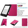 2015 New Arrival PU Leather For Amazon Kindle Paperwhite Origami Case, Hot Pink