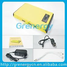 2015 NEW MODEL 5V/2A USB input 8800mah mini portable charger multifunction starter car jumper battery pack