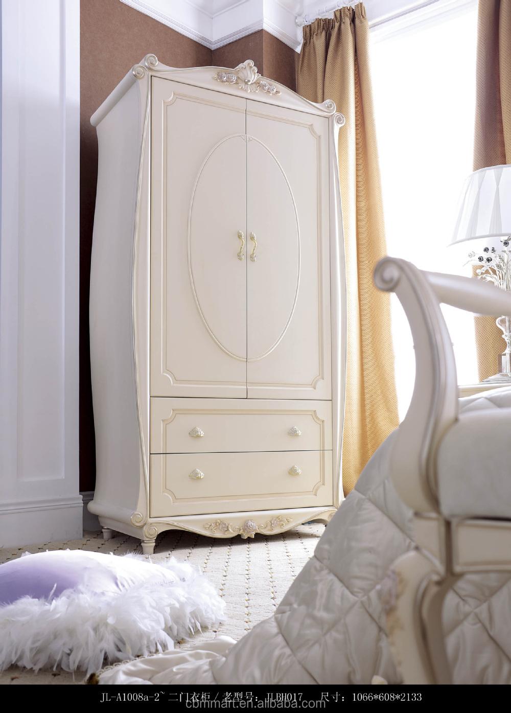 Engels stijl witte kleur hete verkopen slaapkamer kast meubels ...